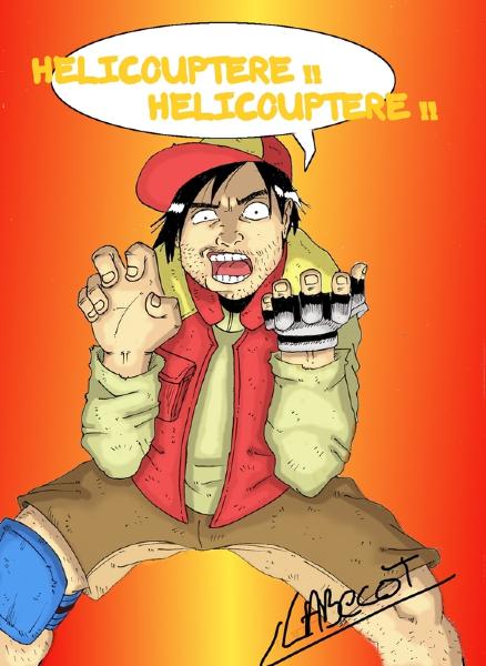Helicouptere par Alvin Labecot